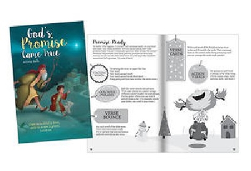 Picture of God's Promise Came True Activity Book
