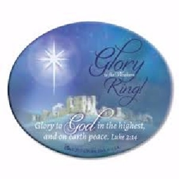 Picture of MAGNET GLORY TO THE NEWBORN KING