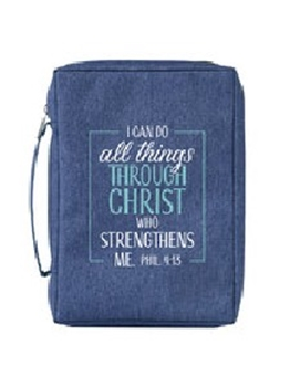Picture of Bible Bag I Can Do All Things Through Christ Mediu