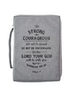 Picture of BIBLE BAG BE STRONG AND COURAGEOUS LARGE