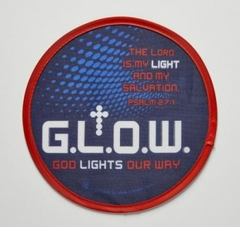 Picture of Flying Disc Glow God Lights Our Way