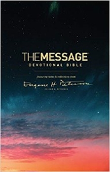 Picture of Message Devotional Bible