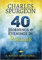 Picture of 40 Mornings And Evenings In Psalms