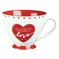 Picture of Mug Let All That You Do Be Done In Love