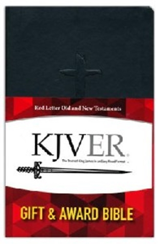 Picture of KJVER Gift & Award Thinline Personal Bible Black