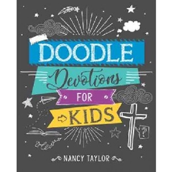 Picture of COLOURING IN DOODLE DEVOTIONS FOR KIDS