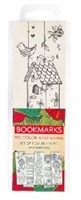Picture of Bookmarks Colouring Set Of 5 Red