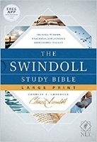 Picture of NLT Swindoll Study Bible Large Print Hardcover