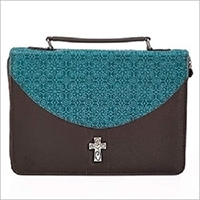 Picture of Bible Bag Cross Med