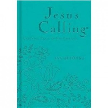 Picture of JESUS CALLING DELUX EDITION TEAL