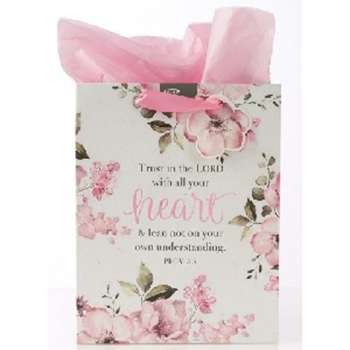 Picture of GIFT BAG TRUST IN THE LORD WITH ALL YOUR HEART