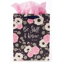 Picture of Gift Bag Medium Psalm 46:10 Be Still & Know