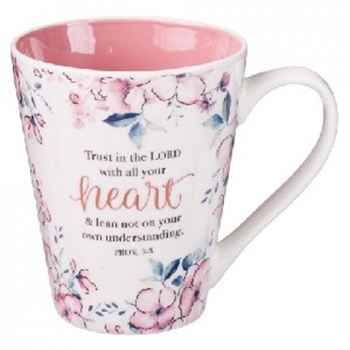 Picture of Mug Trust In The Lord With All Your Heart