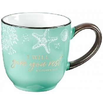 Picture of Mug I Will Give You Rest
