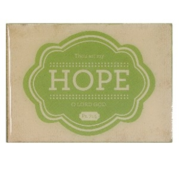 Picture of MAGNETS WOODEN  HOPE