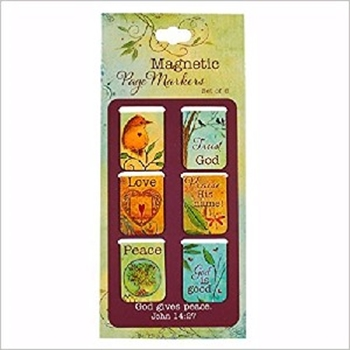 Picture of Magnetic Page Markers Thoughts
