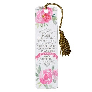Picture of Bookmark Tassel For I Know The Plans