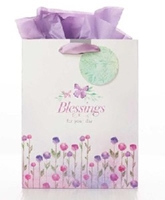 Picture of Gift Bag Medium Blessings For You