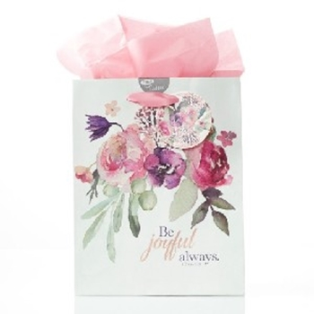 Picture of GIFT BAG MEDIUM BE JOYFUL