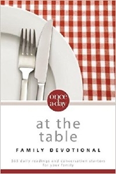 Picture of NIV Once-A-Day At the Table Family Devotional