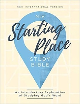 Picture of NIV Starting Place Study Bible