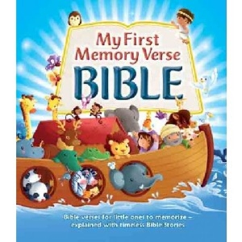 Picture of MY FIRST MEMORY VERSE BIBLE FOAM PADDED HARDCOVER