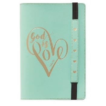 Picture of JOURNAL FLEXCOVER GOD IS LOVE