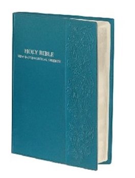 Picture of NIV EMBOSSED VINYL BIBLE TEAL