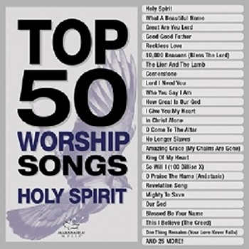 Picture of TOP 50 WORSHIP SONGS HOLY SPIRIT