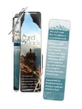 Picture of Pen & Bookmark Set The Lord is My Rock