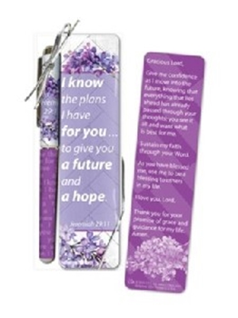 Picture of PEN AND BOOKMARK GIFT SET ISAIH 40V31