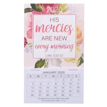 Picture of MAGNETIC CALENDAR HIS MERCIES ARE NEW
