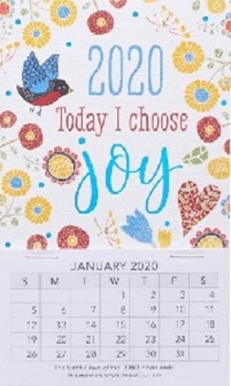 Picture of MAGNETIC CALENDAR 2020 TODAY I CHOOSE JOY