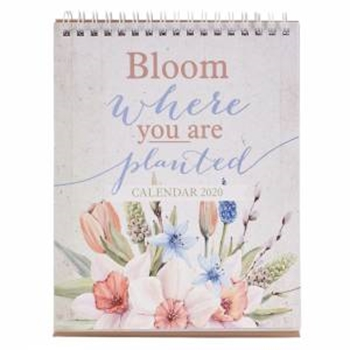 Picture of CALENDAR DESKTOP BLOOM WHERE YOU ARE PLANTED