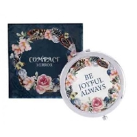 Picture of Compact Mirror Be Joyful Always