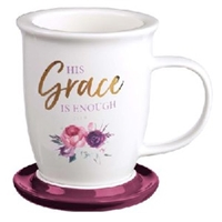 Picture of Mug  His Grace Is Enough 2 Cor 12:9