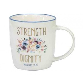 Picture of MUG STRENGHT AND DIGNITY