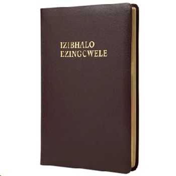 Picture of Xhosa Bible 1975 Medium Luxleather Burgundy