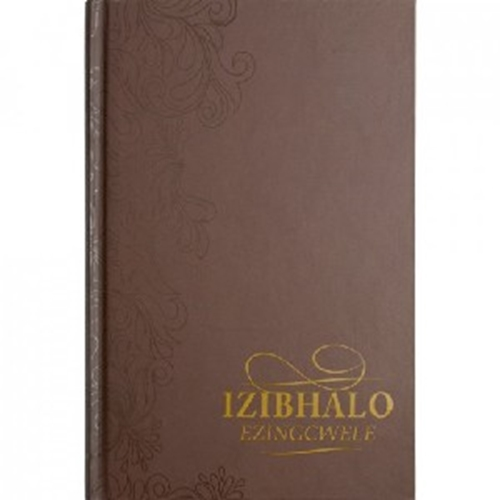 Picture of Xhosa Bible 1975 Medium Brown Hardcover