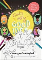 Picture of Gods Very Good Idea Colouring Book