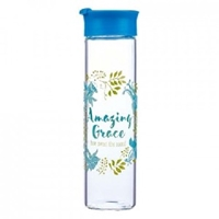 Picture of WATERBOTTLE GLASS AMAZING GRACE
