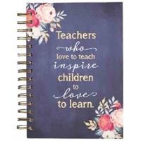Picture of JOURNAL WIREBOUND TEACHER WHO LOVE TO TEACH