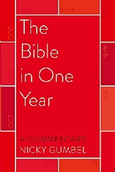 Picture of BIBLE IN ONE YEAR A COMMENTARY BY NICKY GUMBLE