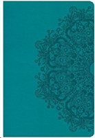 Picture of CSB Reference Bible Giant Print Leathertouch Teal