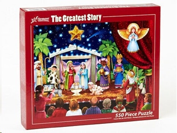 Picture of PUZZLE THE GREATEST STORY 550 PIECE