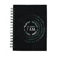 Picture of JOURNAL LARGE WIREBOUND IN HIM I AM
