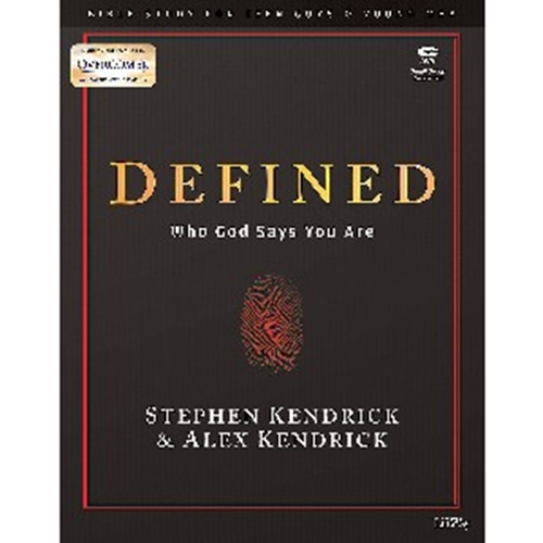 Picture of Defined Teen Guys Bible Study Dvd