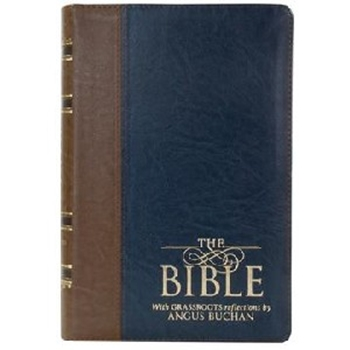 Picture of NKJV Bible With Grassroots Reflections