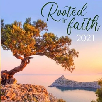 Picture of Calender Large Rooted In Faith 2021