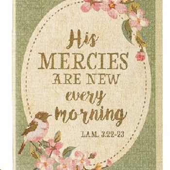 Picture of Daily Planner His Mercies Are New Every Morning 20